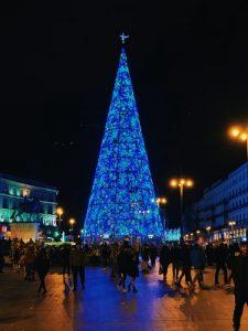 Luces de Navidad en Madrid: Puerta del Sol
